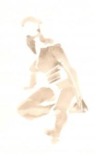 kroki, akvarell 2013 06 15-16 3