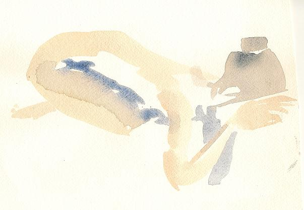 akvarellkroki 30 nov 2013
