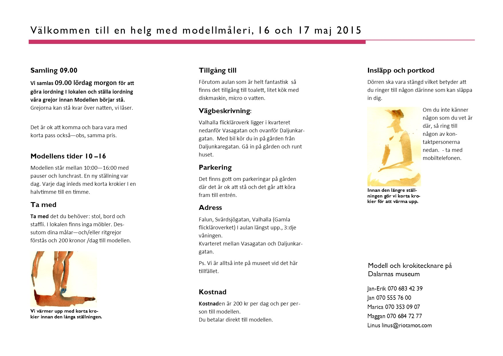 modellmåleri-helg 2015 16-17 maj broschyr